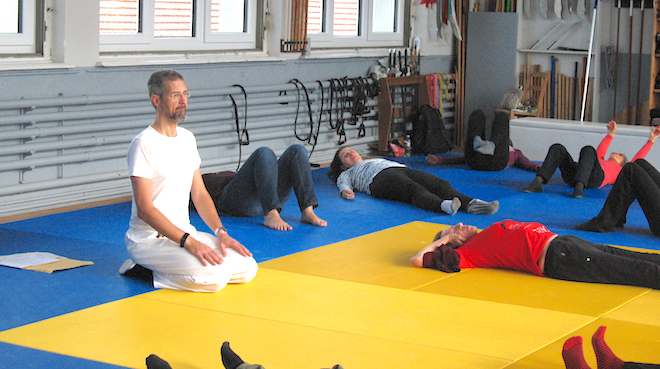 psoas release exercises workshop in switserland